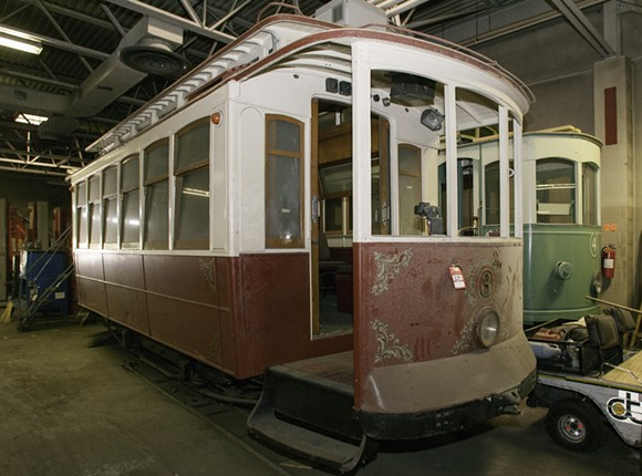 The City of Detroit will auction off surplus historic trolley cars in two public auctions scheduled for next month. - COURTESY OF THE CITY OF DETROIT