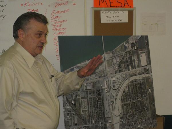 Detroit International Bridge Co. President Dan Stamper.