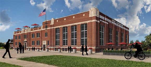 Brewster Wheeler redevelopment rendering - DETROIT