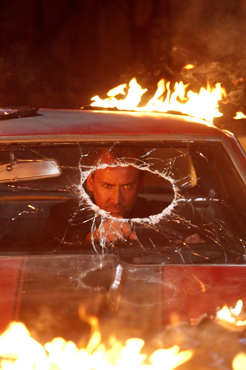 Drive Angry: Blowed up real good.