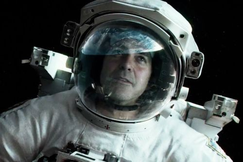 Edge-of-your-seat action sequences alternate with the poetry of looking down at our planet in Gravity.