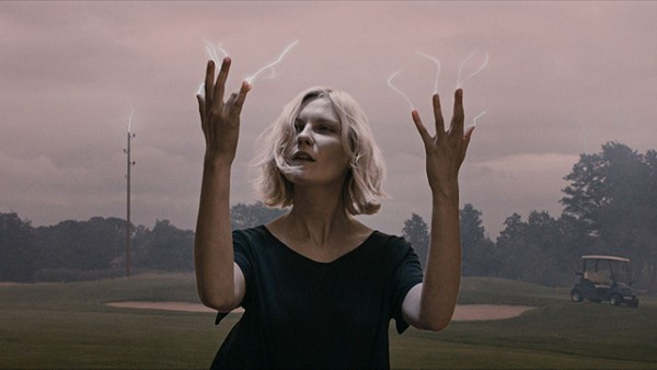 Electric dreams: Kirsten Dunst in Melancholia