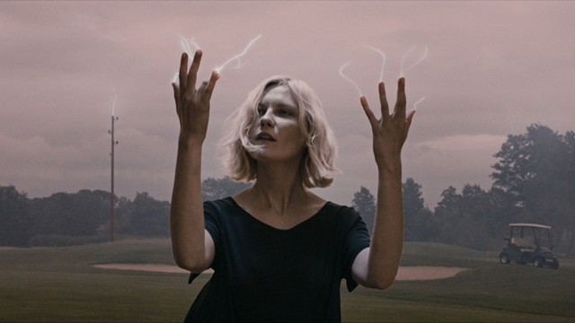 Electric dreams: Kirsten Dunst in Melancholia