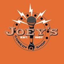 "Every Tuesday night ""The World's Greatest Open Mic' at Joey's Comedy Shop"