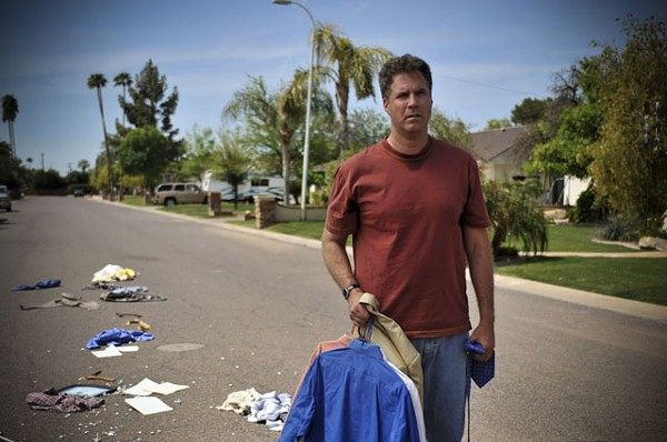Ferrell is alky loser Nick Porter in Everything Must Go.