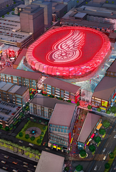 Financing the new Detroit Red Wings arena could include an interest rate swap