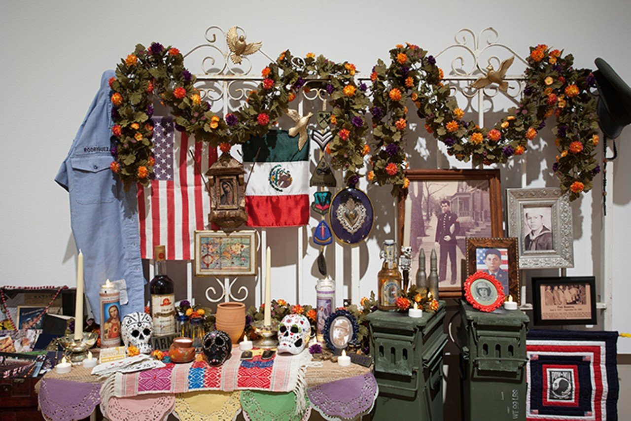 Folk Art On Display With DIAs Day Of The Dead Ofrendas