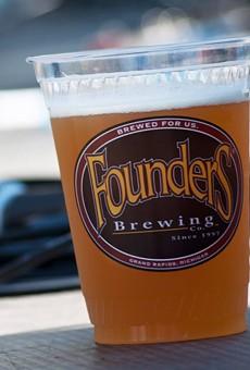 Founders Beer (photo via Facebook)