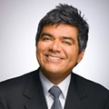 George Lopez gets out of the barrel