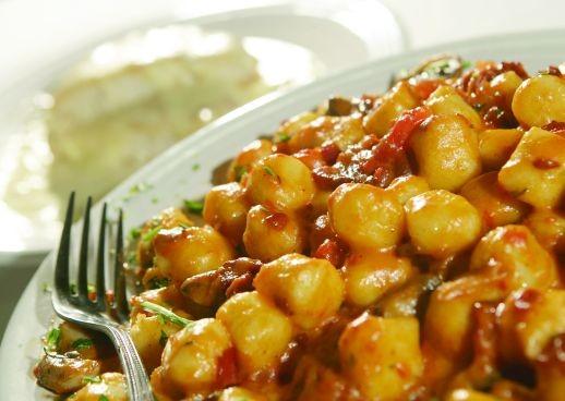 Gnocchi Rita Sauce, which are potato dumplings
