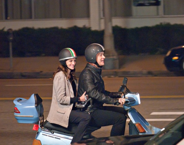 Hanks and Roberts in Larry Crowne: Aren't they cute?