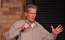 Headliner Steve Iott at Joey's Comedy Shop