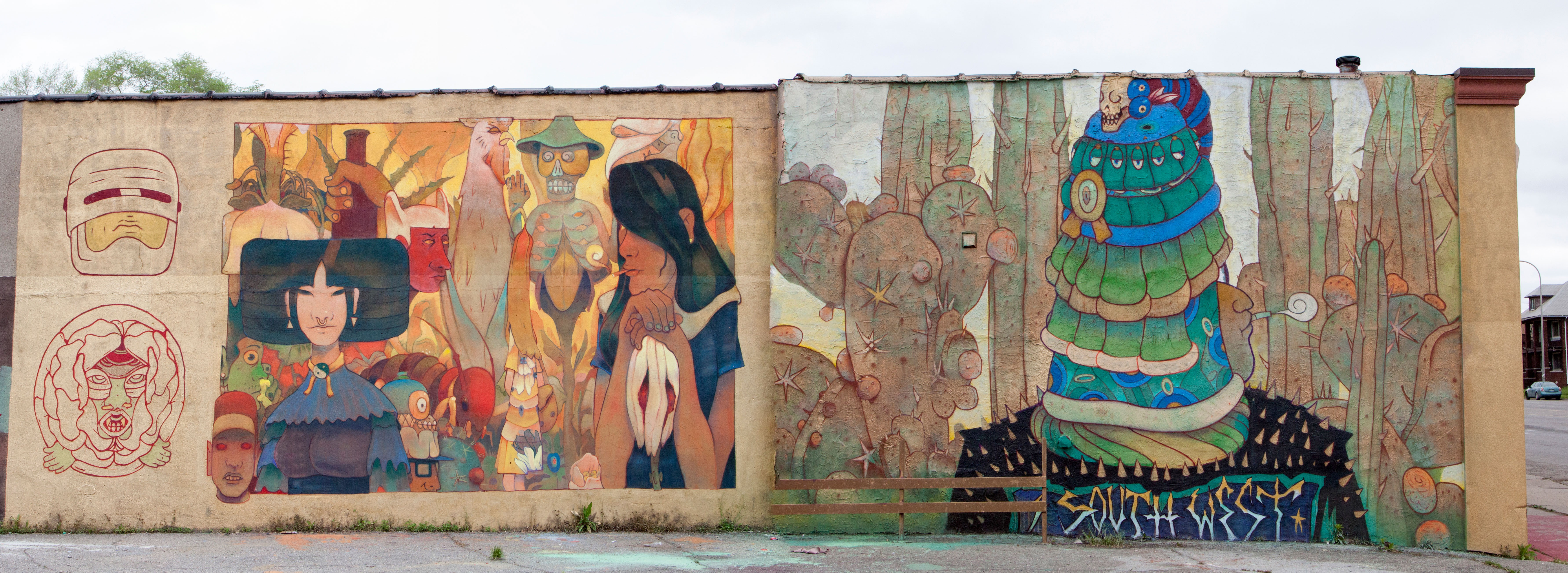 Here are the completed southwest detroit murals the scene click to enlarge erik howard amipublicfo Choice Image