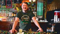 Hot Shotz: PJ's Lager House bartender pours us a 'Blue Steel'