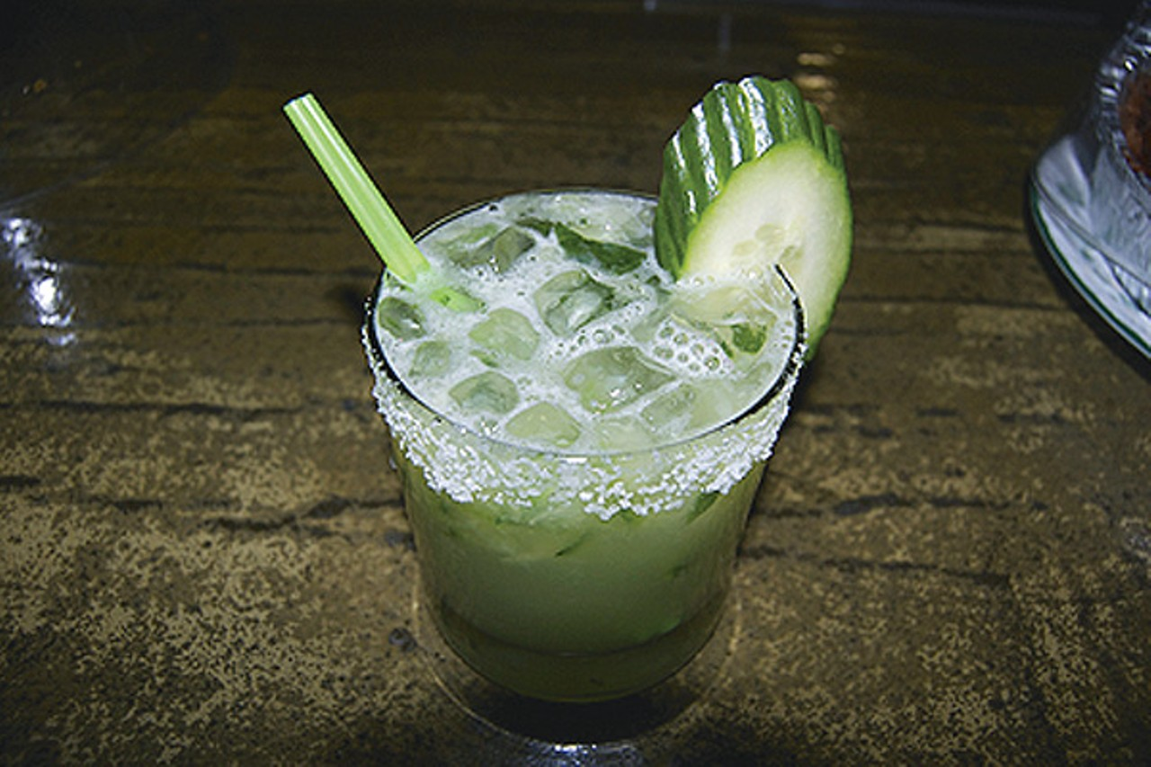 hot shotz rock city eatery s ricky ruggero teaches us how to make hot shotz rock city eatery s ricky ruggero teaches us how to make a cucumber margarita