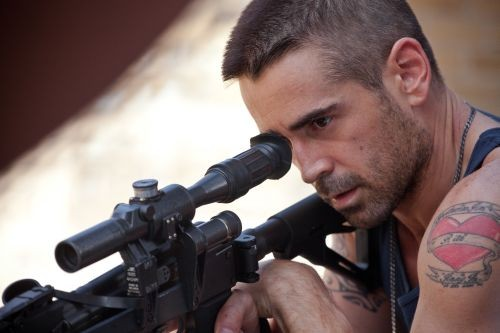 In Dead Man Down, Collin Farrell has revenge in his sights.