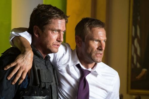 In Olympus Has Fallen, Gerard Butler and Aaron Eckhart are confronted with an unstoppable evil: Hollywood's endless desire to recycle tattered plots into fresh money.