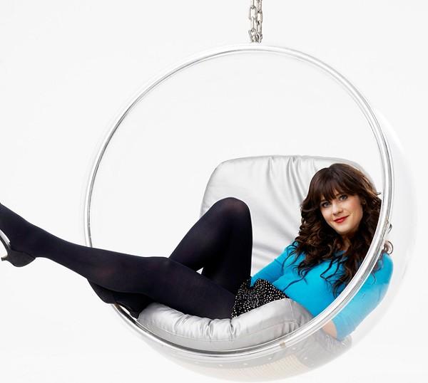 Indie rockboy heartthrob Zooey Deschanel stars in New Girl on FOX.