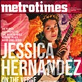 Jessica Hernandez on the verge