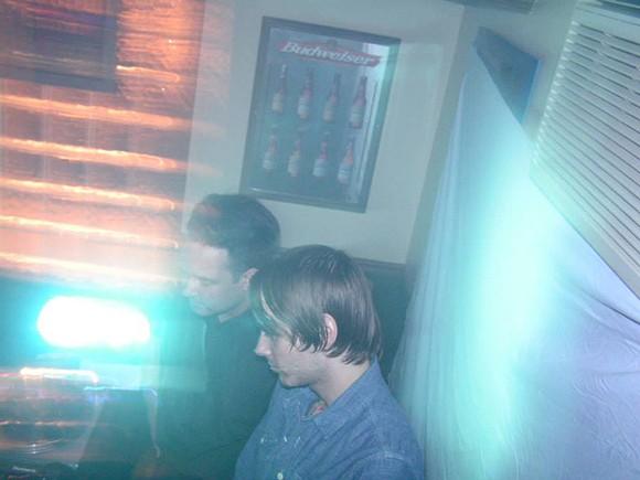 Justin Carver and Daniel Stolarski DJ Something Cold at Nancy Whiskey . - COURTESY PHOTO