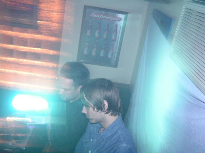 Justin Carver and Daniel Stolarski DJ Something Cold at Nancy Whiskey . - COURTESY PHOTO