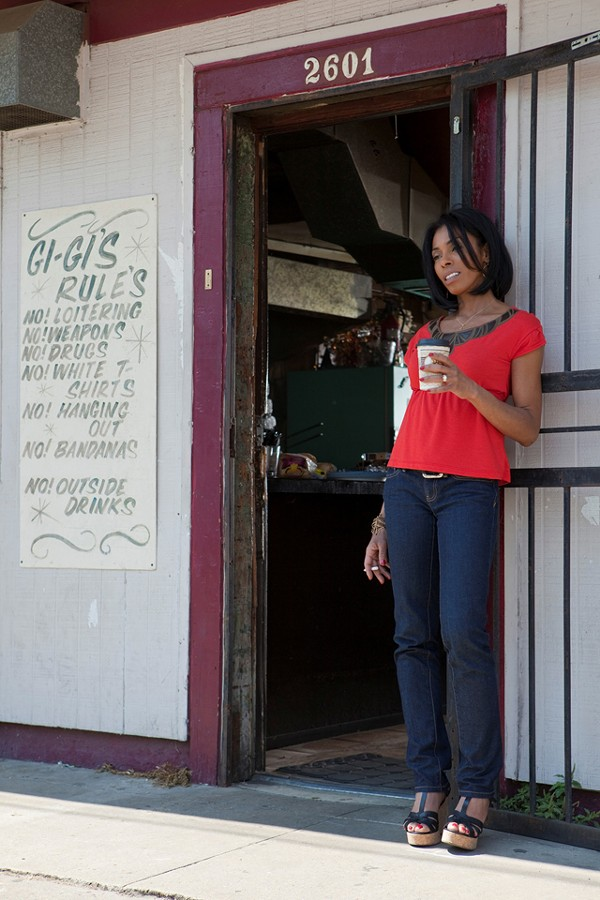 Khandi Alexander in Treme If only only our town had this much life in Detroit 1-8-7.