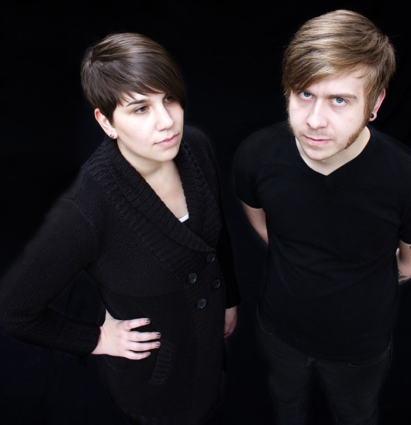 Kim Lambert and Nik Sureal: They're also influenced by newer surf rockers like Man or Astroman.