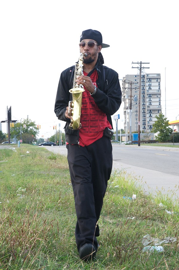 "Ladarrel ""Saxappeal"" Johnson - MT PHOTO: KAHN SANTORI DAVISON"