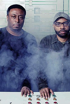 Lawrence, left, and Lenny Burden, of Octave One.
