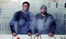MARIE STAGGAT - Lawrence, left, and Lenny Burden, of Octave One.
