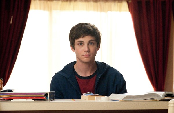 Logan Lerman: Troubled youth with Sonic Youth roaring in the background.