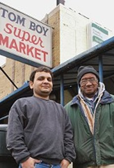 The owners of the Cass Corridor's Tom Boy Market spoke with John Carisle, known in this newspaper at Detroitblogger John, for a 2009 column.