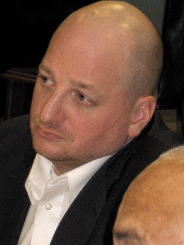 Matt Gnatek of the Detroit Police and Fire Retirement System Board of Trustees. - CURT GUYETTE