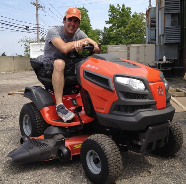 PHOTO COURTESY OF THE MOWER GANG