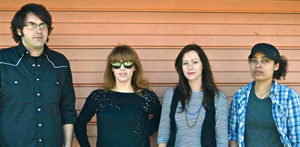 Mirrortwin (from left): Jamiel Dado, Loretta Lucas, Julie Lucas and Beren Ekine.