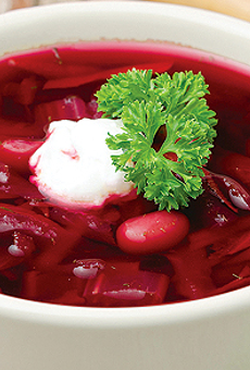 Mr. LeVaux, the Russian mafia, and what makes a good bowl of borscht