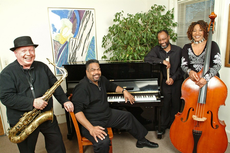 Alvin Waddles Quartet. - COURTESY PHOTO