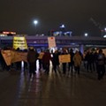 Peaceful rallies across Detroit follow Ferguson decision; at least five detained