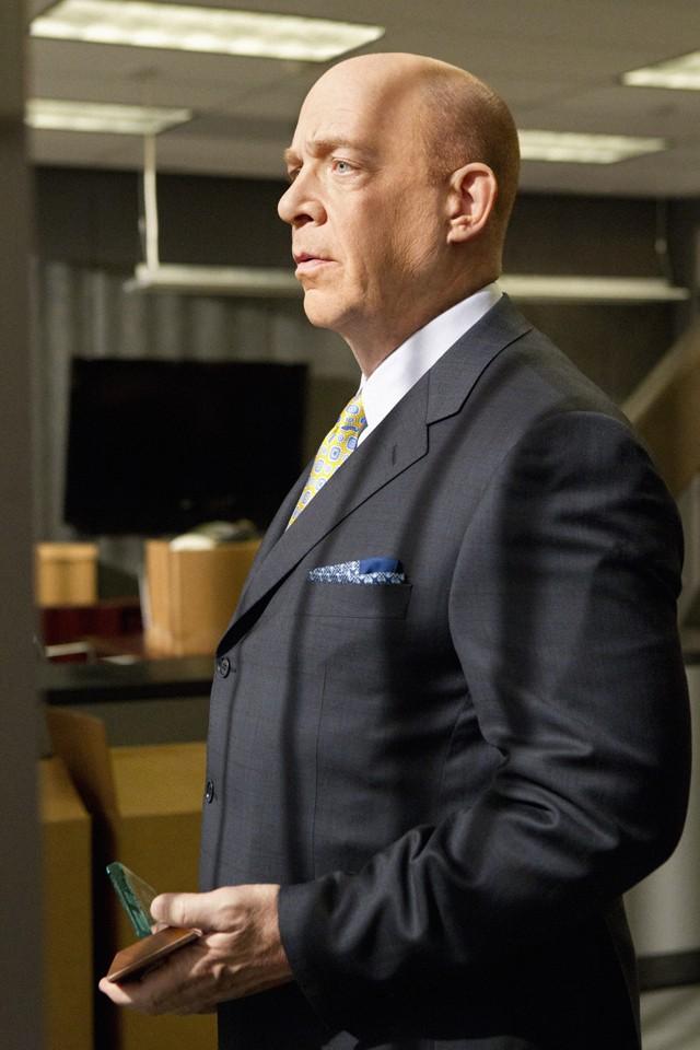 Nicest dude on TV: J.K. Simmons.