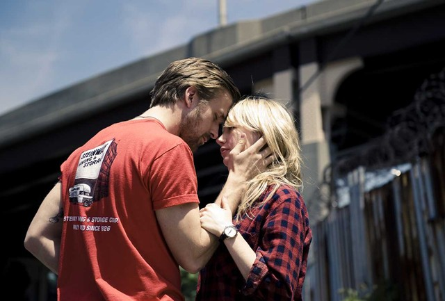 Not made for each other: Gosling and Williams in Blue Valentine.