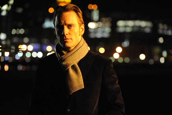 Not there for her: Fassbender in Shame.