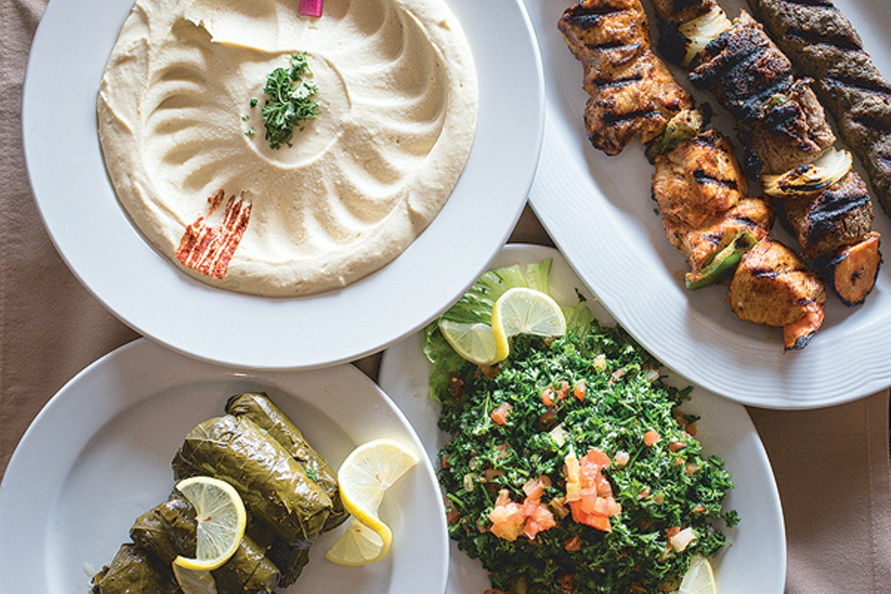 Ollie s lebanese cuisine gives a taste of the 39 paris of for About lebanese cuisine