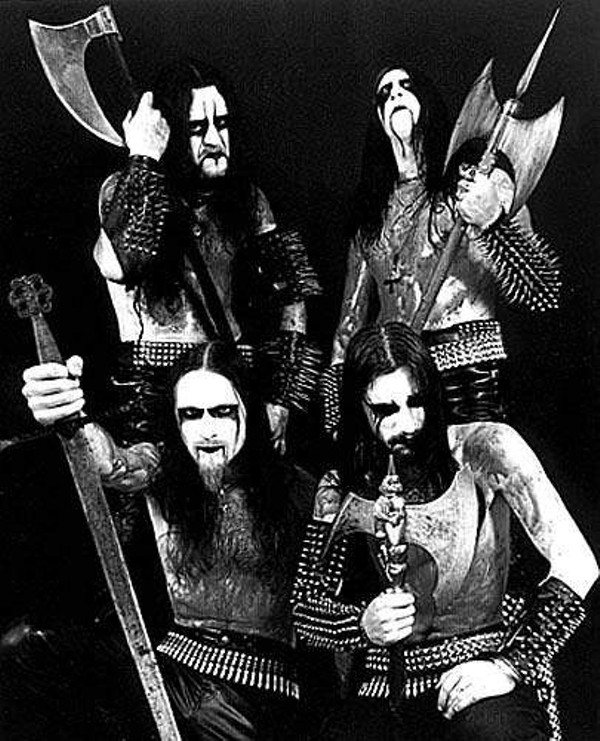 8 Great Examples Of Black Metal Corpse Paint Detroit