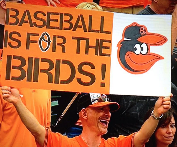 Baltimore fans rocked Camden Yards Friday afternoon, while Orioles batters rocked the Tigers' bullpen for the second day in a row. - TBS