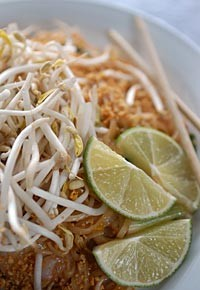 Pad Thai from Thai Bangkok in Hamtramck. - METRO TIMES PHOTO/ROB WIDDIS