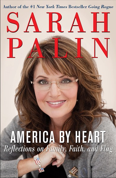Palin released America by Heart, the latest blast in her media barrage, last week.
