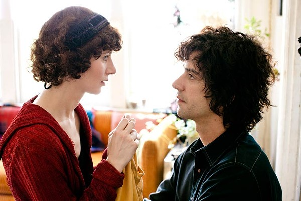 Pet parenthood: Hamish Linklater and Miranda July in The - Future.