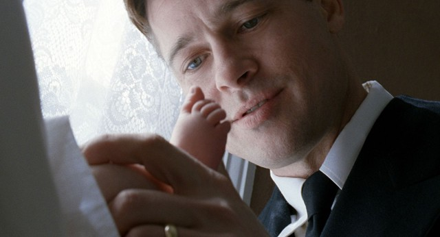 "Photo cap: ""He's in God's hands now"": Brad Pitt in Tree of Life."
