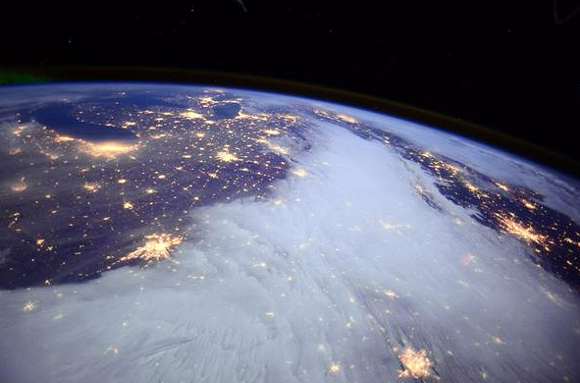 IMAGE CREDIT: NASA/BARRY WILMORE/TWITTER