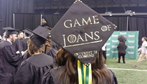 Photo of the day: Wayne State grad tells it like it is